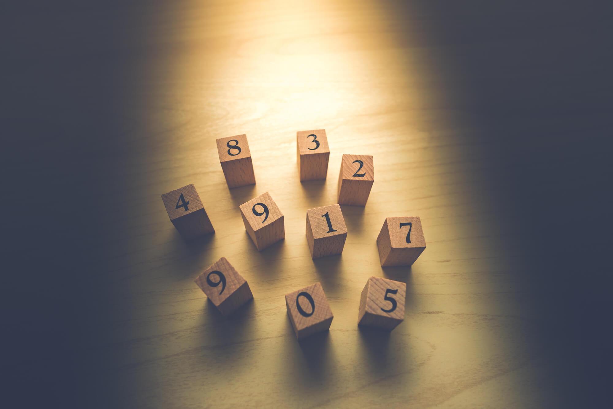 数字が持つスピリチュアルな意味